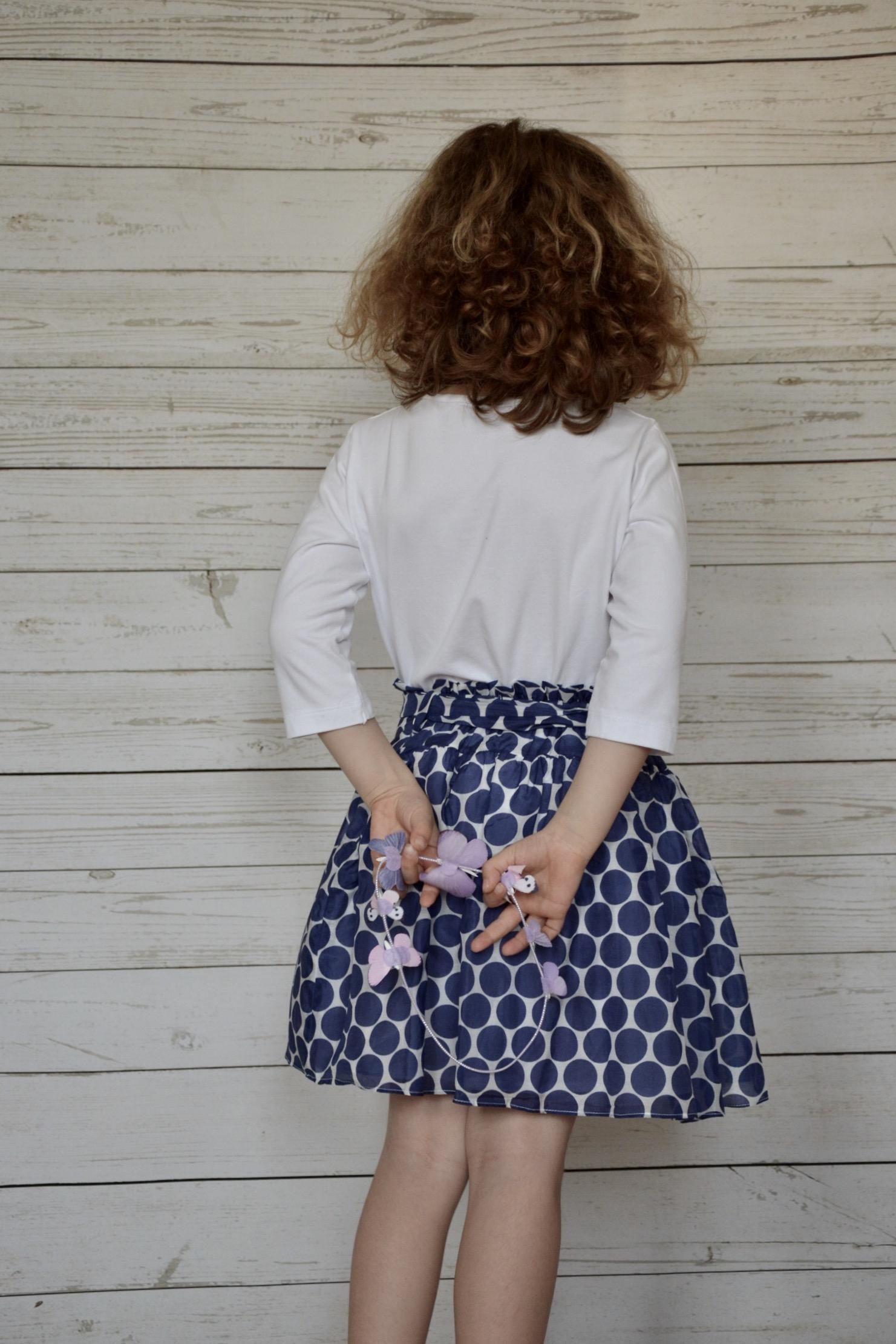 Completo Malvi bolli blu - fashion girl